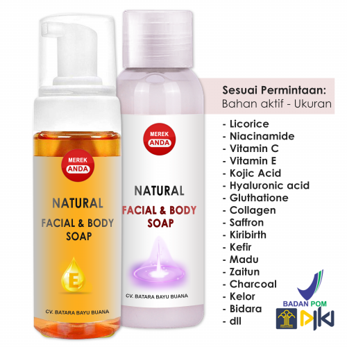 Facial and body soap